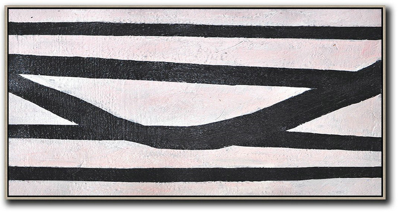 Original Extra Large Wall Art,Hand-Painted Oversized Horizontal Minimal Art On Canvas,Hand Made Original Art #B8R8
