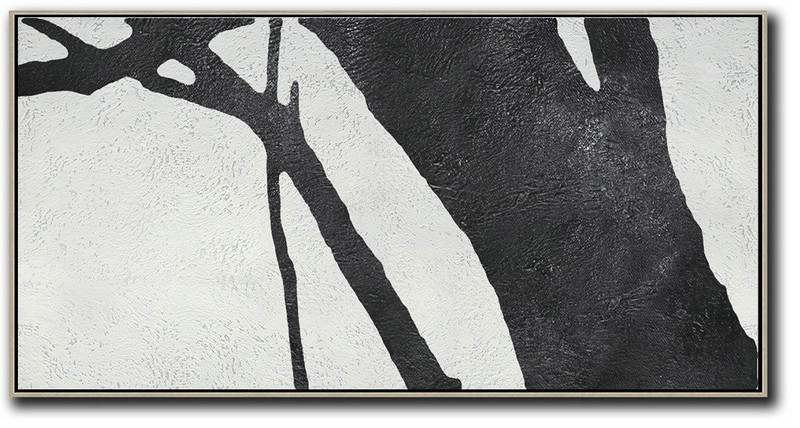 Extra Large Paintings,Oversized Panoramic Minimal Art On Canvas,Abstract Artwork Online #Z2C0